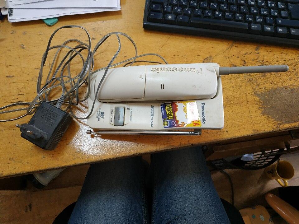 Бездротовий телефон Panasonic KX-TC1205RU