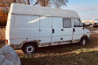 Вантажний фургон, марка КТЗ Fiat, модель КТЗ Ducato 2500, реєстраційний номер АС5425АО, 1990 р.в., № кузова ZFA28000000683006