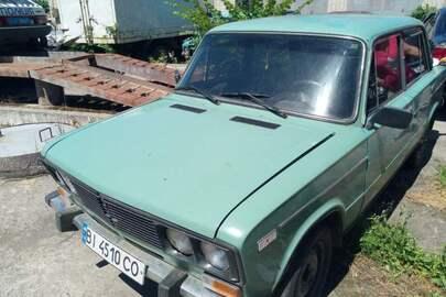 Легковий автомобіль ВАЗ 21061, 1986 р.в., зеленого кольору, ДНЗ ВІ4510СО, номер кузову XTA210610G1492428