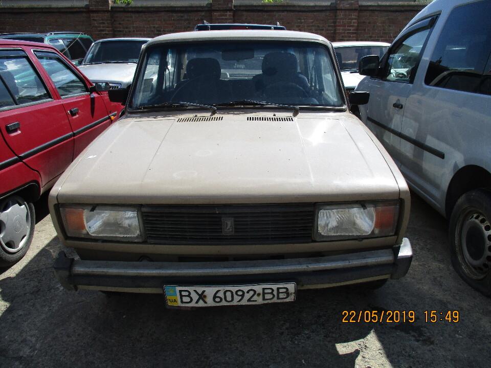 Автомобіль марки ВАЗ 21051, 1981 р.в., д.н.з.: ВХ6092ВВ, номер кузаву: XTA210500C0115993