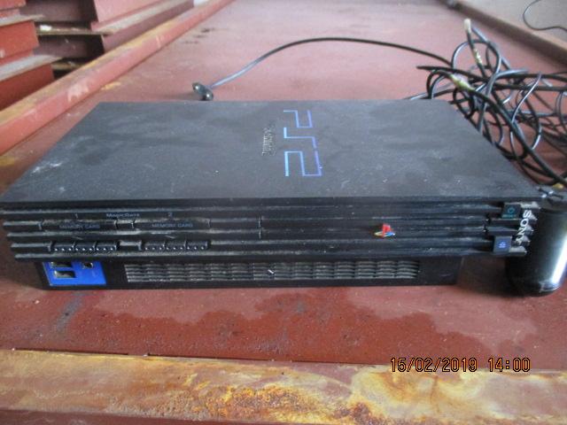 Ігрова приставка Sony Playstation 2, SCPH-39008, з двома джойстиками