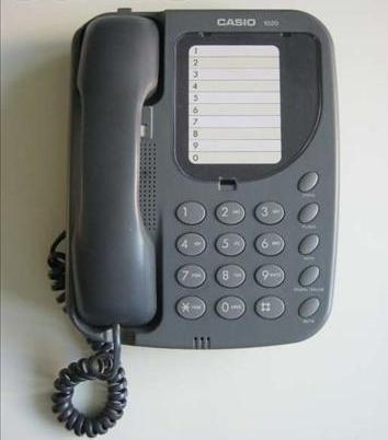 Телефон CASIO 1020, стаціонарний, б/в