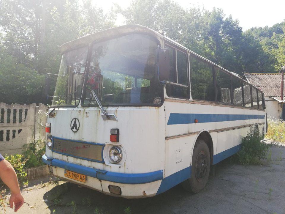 Транспортний засіб ЛАЗ 699Р, ДНЗ: 1989АА, № кузова 26920, 1991 р.в., білого кольору