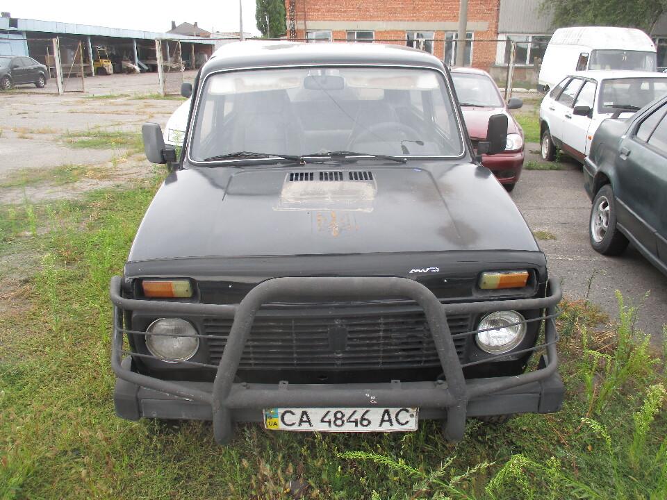 Легковий автомобіль ВАЗ 2121, ДНЗ: СА4846АС, № кузова: ХТА212100D0295085, 1983 р.в.