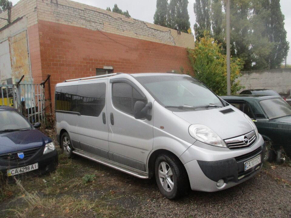 Автотранспортний засіб OPEL VIVARO, ДНЗ: СА1011СІ, № кузова: WOLF7B1B2EV612495, 2013 р.в., сірого кольору