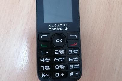 Мобільний телефон марки «ALCATEL» модель: 1016D