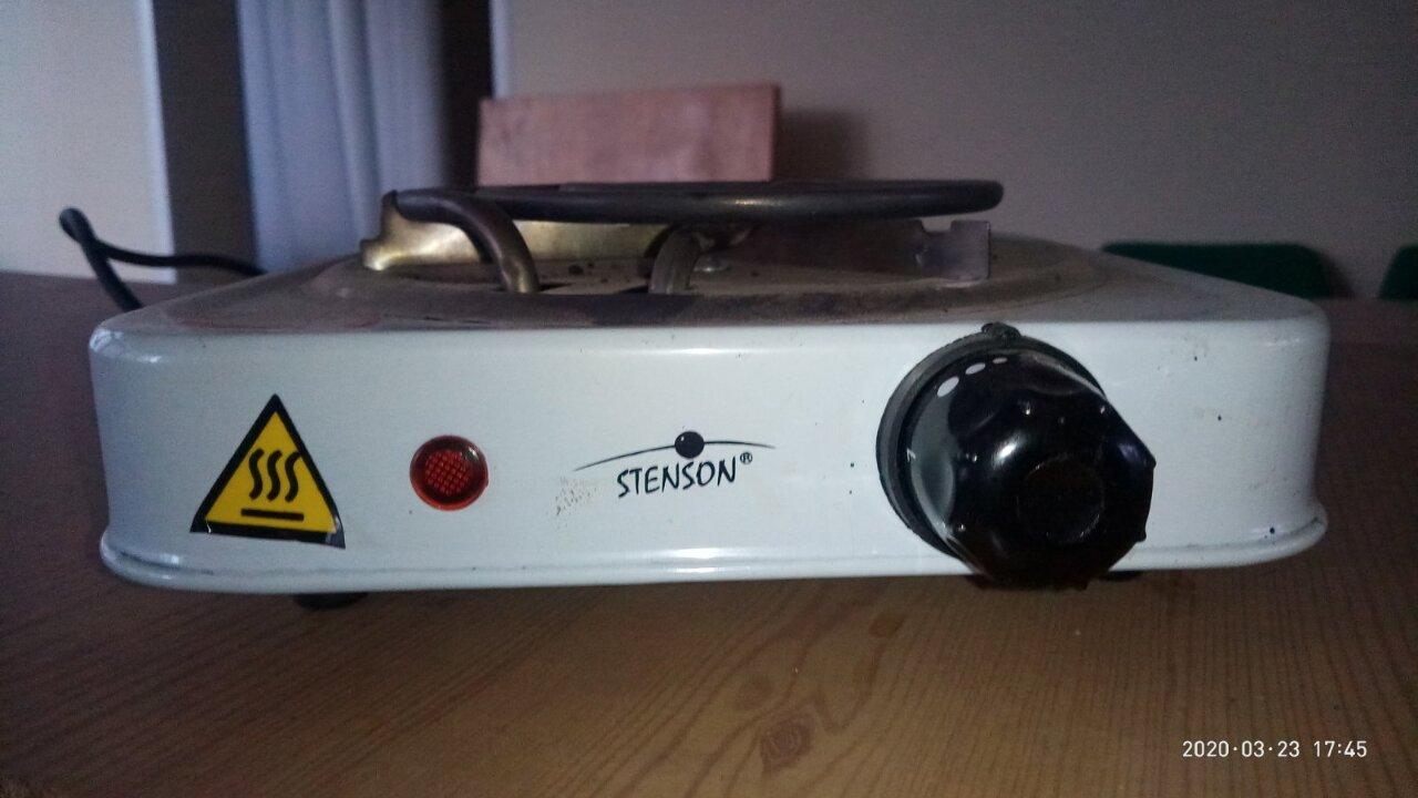 Електроплита настільна марки STENSON