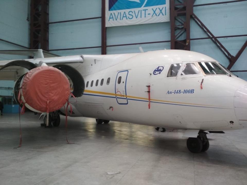 Літальний  апарат (повітряне судно) - літак Ан-148-100В, 2005 року випуску, серійний номер №01-01, державний реєстраційний знак UR-NTA