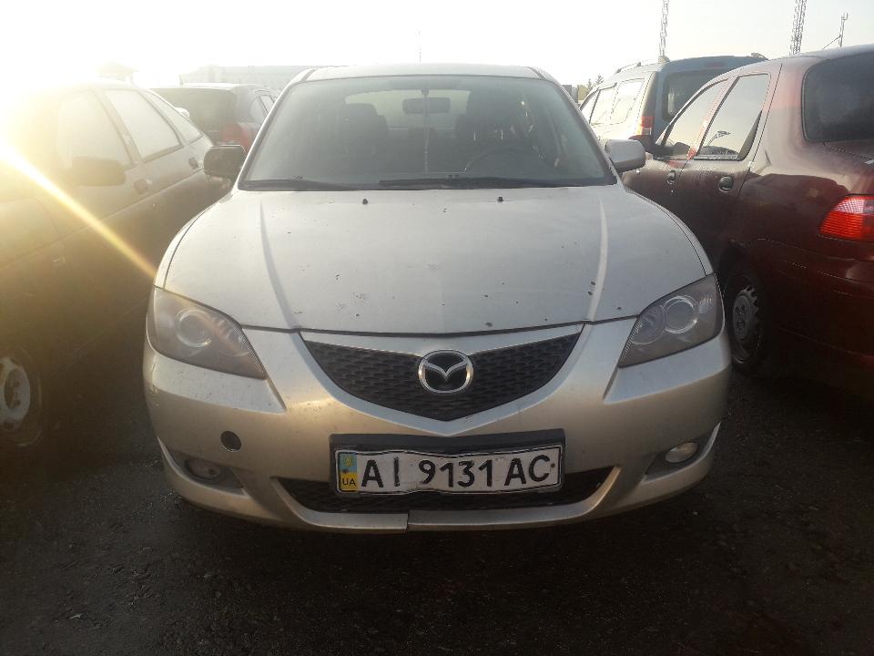 Транспортний засіб Mazda 3, 2006 року випуску, №. кузова JMZBK12Z571376265, ДНЗ: АІ9131АС