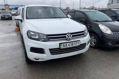 Автомобіль марки Volkswagen, модель Touareg NF, об`єм двигуна 2 967 куб. см., 2013 року виробництва, кузов №WVGZZZ7PZED015625, АА4181РІ