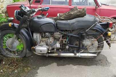 """Колісний транспортний засіб: мотоцикл МТ """" ДНЕПР 11 """",  ДНЗ 4615ПОЕ,  № шасі (рами) 092286, чорного кольору"""