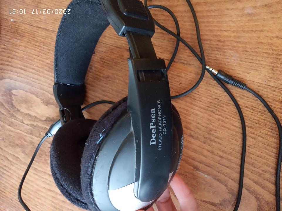 Навушники протишумні DeePsea, STEREO, CD-707V