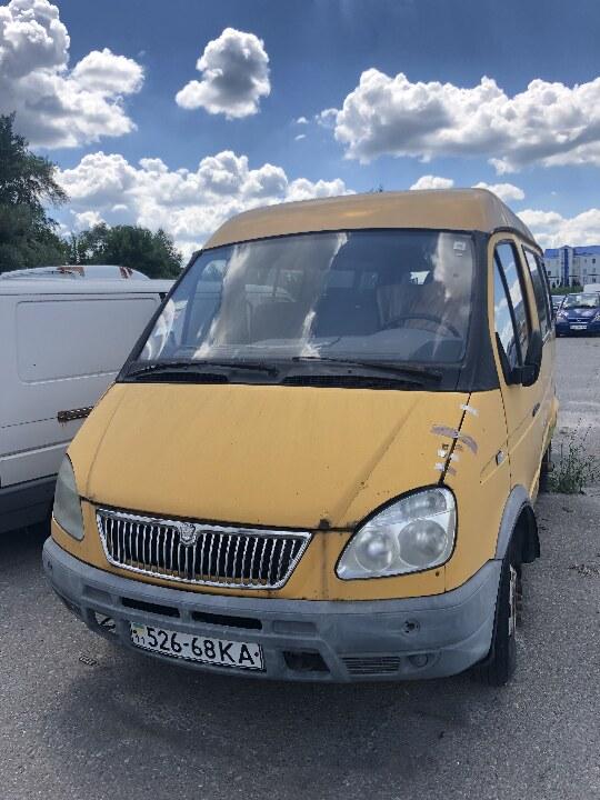Транспортний засіб: ГАЗ 322132, шасі 32210030058865, р/в 2003, номерний знак 52668КА