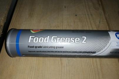 Консистентне мастило для харчової промисловості «Food Grease 2» в пластикових тубах