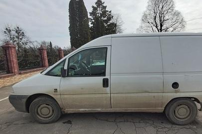 Транспортний засіб FIAT SCUDO, ДНЗ: ВК4727ВЕ, рік випуску – 1997, номер кузова - ZFA22000012313519
