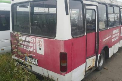 Транспортний засіб - марки Богдан А-091, 2005 року випуску, шасі (кузов, рама) Y6LA091005L000010, реєстраційний номер ВН1834НЕ