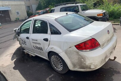 Транспортний засіб марки Fiat, модель LINEA, шасі (кузов, рама) ZFA32300003195652, 2012 року випуску, тип загальний, легковий- седан-В, колір -білий, ДНЗ АА8313ЕК