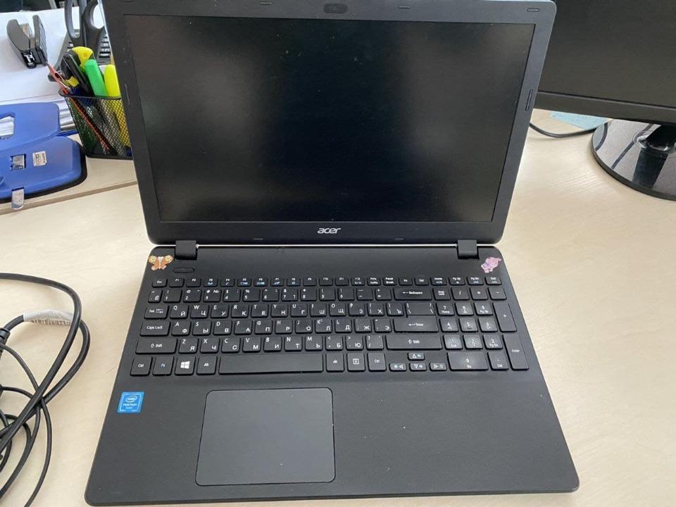 Ноутбук ACER, EX 2519 series, чорного кольору, в кількості 1 шт.