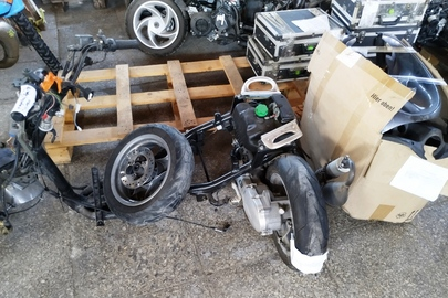 """Мопед марки """"YAMAHA"""", модель """"YN50R"""", рік випуску невизначений, РНЗ відсутній, тип двигуна - бензин, об'єм двигуна - 49 куб.см., VIN- код VTLSA211000044592, бувший у використанні, некомплектний"""
