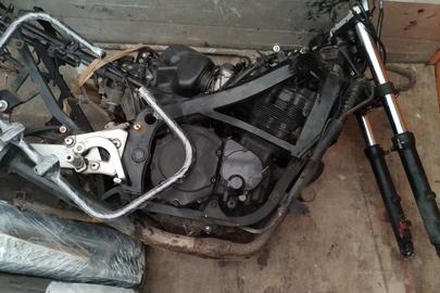 Мотоцикл марки «Suzuki», модель не визначено, рік виробництва не визначено, ідентифікаційний номер JS1GR78A6L2102898, без реєстраційного номерного знаку, у розібраному стані, некомплектний