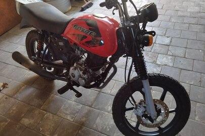 Загальний мотоцикл-А марки BAJAJ BOXER BM 150 X, ДНЗ ВА0831АВ, червоного кольору, 2019 року випуску, VIN номер: MD2A21BY5KWC46904