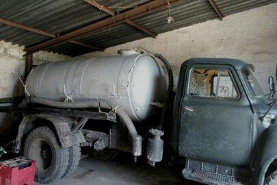 Вантажний асенізаційний КО 503Б на шасі ГАЗ 53, ДНЗ АР9387ВМ, зеленого кольору 1987 р.в., номер кузова ХТН531200Н1022103