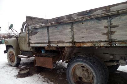 Вантажний бортовий ГАЗ 53А, ДНЗ 09862НР, зеленого кольору, 1979 р.в., шасі №ВN