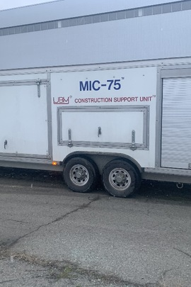 Колісний транспортний засіб мобільний комплекс забезпечення робіт марки MIC-75, 2007 року випуску, реєстраційний номер КА 02478