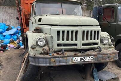 Колісний транспортний засіб ЗИЛ 130, 1983 року випуску, державний реєстраційний номер АІ8451АС, VIN XTZ130000D2161718