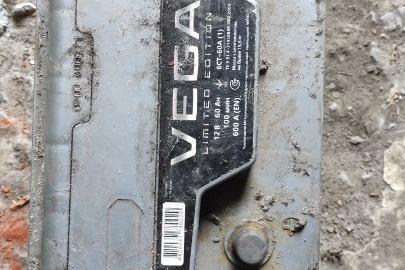 Акумуляторна батарея VEGA Limited Edition 12B 60Ah 6CT - 60A