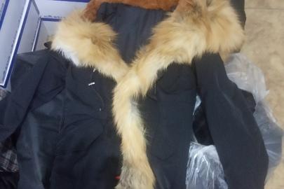 """Куртка жіноча марки """"ZНЕNYU"""" (5 шт.),  куртка жіноча з каптуром (2 шт)."""