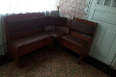Кухонний гарнітур (диван кутовий)