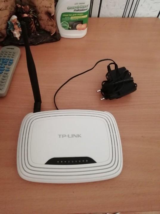 WiFi роутер  TP-LINK, білого кольору
