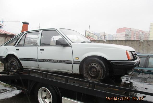 Колісний транспортний засіб: легковий комбі - В, марки Opel Ascona 1.8, ДНЗ 61362СК,  рік випуску 1983, кузов № WOJ000084D1279174, колір сірий