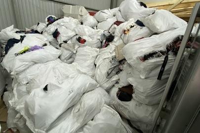 Сумки з маркуванням різних виробників в асортименті, бувші у використанні, у кількості 3595 кг
