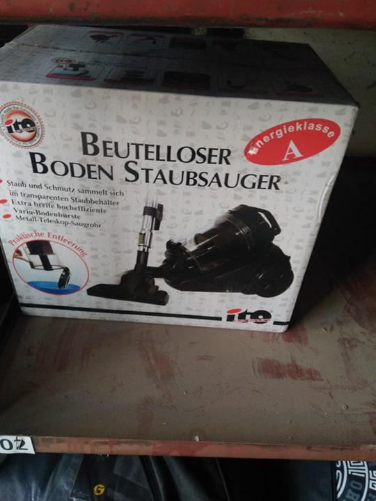 Пилососи «BEUTELLOSER BODEN STAUBSAUGER» торговельної марки «ITO», в кількості 5 шт.