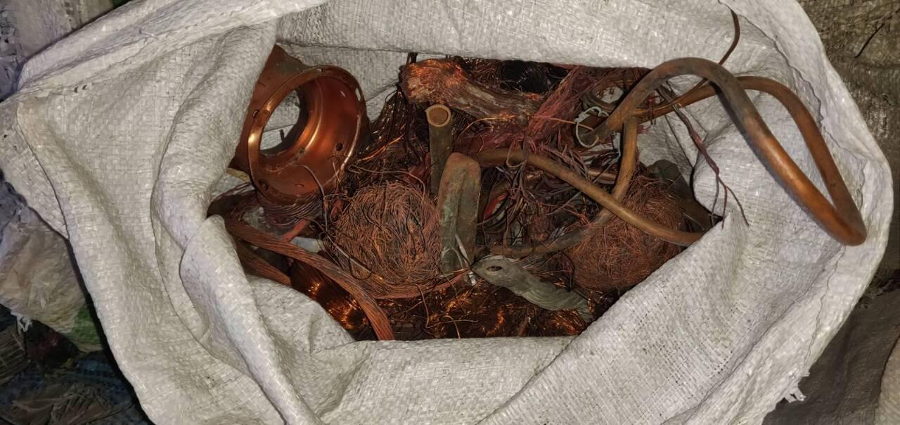Брухт кольорових металів в кількості 767 кг