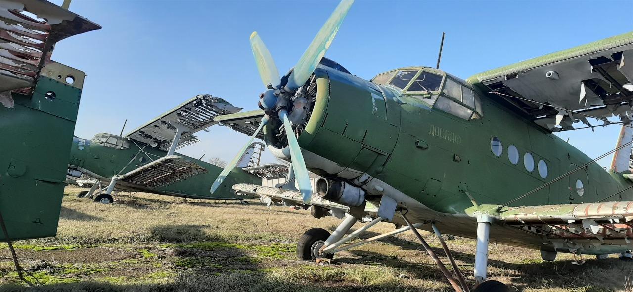 Літак АН-2т, інвентарний №126, заводський № 1Г16033