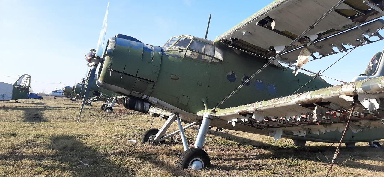 Літак АН-2т, інвентарний номер 127, заводський номер 1Г16036