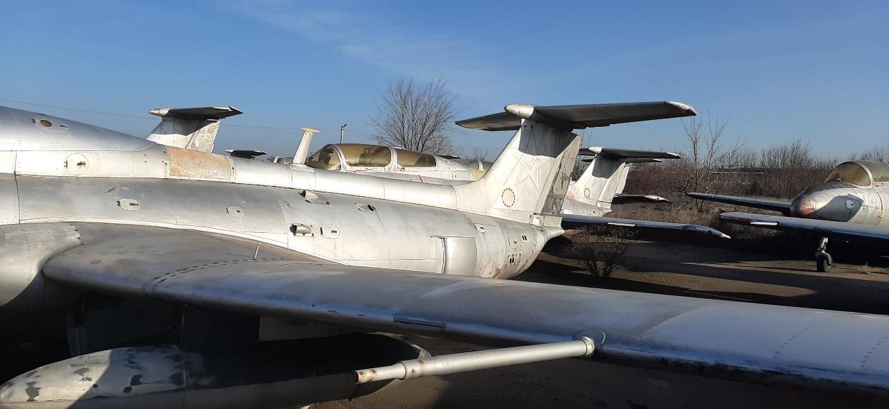 Літак Л-29, інвентарний номер 15, заводський номер 792494