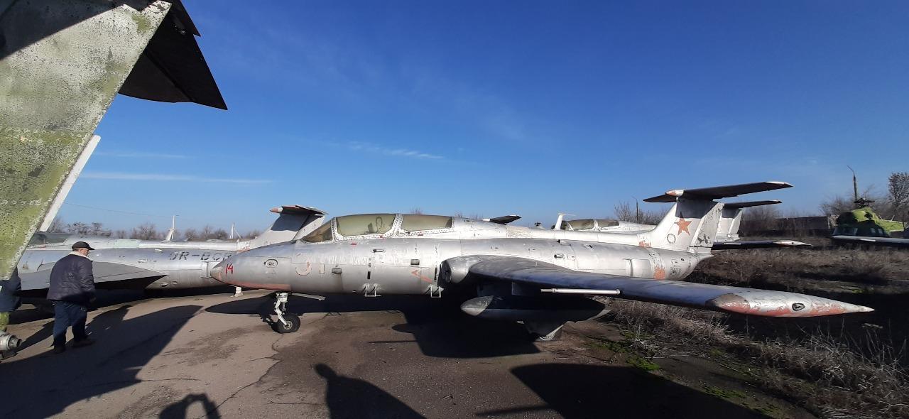 Літак Л-29, інвентарний номер 14 заводський номер 792492