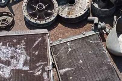 Брухт алюмінію загальною вагою 65 кг