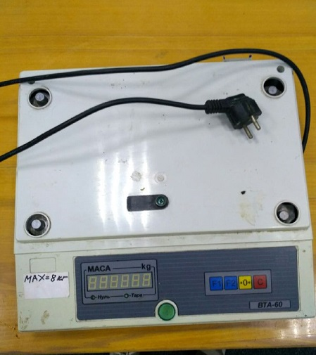 Ваги марки ВТА 60/15 -7 , калькулятор ENKO модель КК 268А