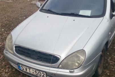 Легковий автомобіль CITROEN XSARA, тимчасовий реєстраційний номер SVT502, 2002 року випуску, сірого кольору, номер кузова VF7N1RHZB73570375