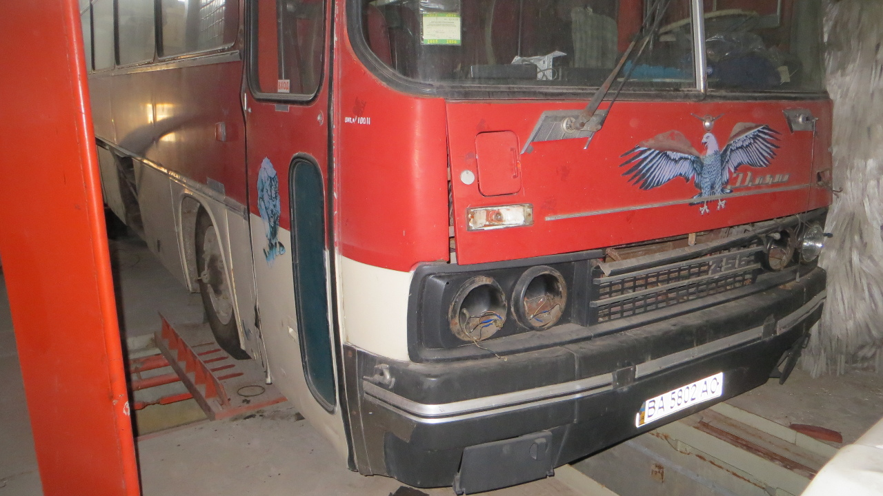 Автобус – D Ikarus 256, ДНЗ ВА5802АО, 1985 року випуску, VIN № TRA256000F0001766