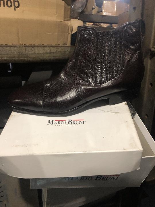 Взуття чоловіче (черевики), різних кольорів та розмірів, торгівельної марки «Mario Bruni» - 21 пара