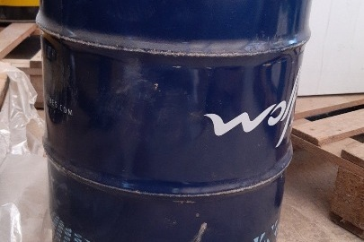 Олива моторна торгівельної марки «WOLF GUARTECH 10W-40 B4», напівсентитична у жерстяній бочці, ємністю 60 л - 1 бочка