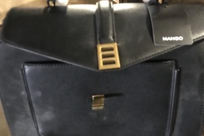 """Жіночі сумки торгівельних марок """"H&M"""" та """"Mango"""" - 2 шт., а також ремінь з натуральної шкіри, торгівельної марки """"Massimo Dutti"""" - 1 шт."""