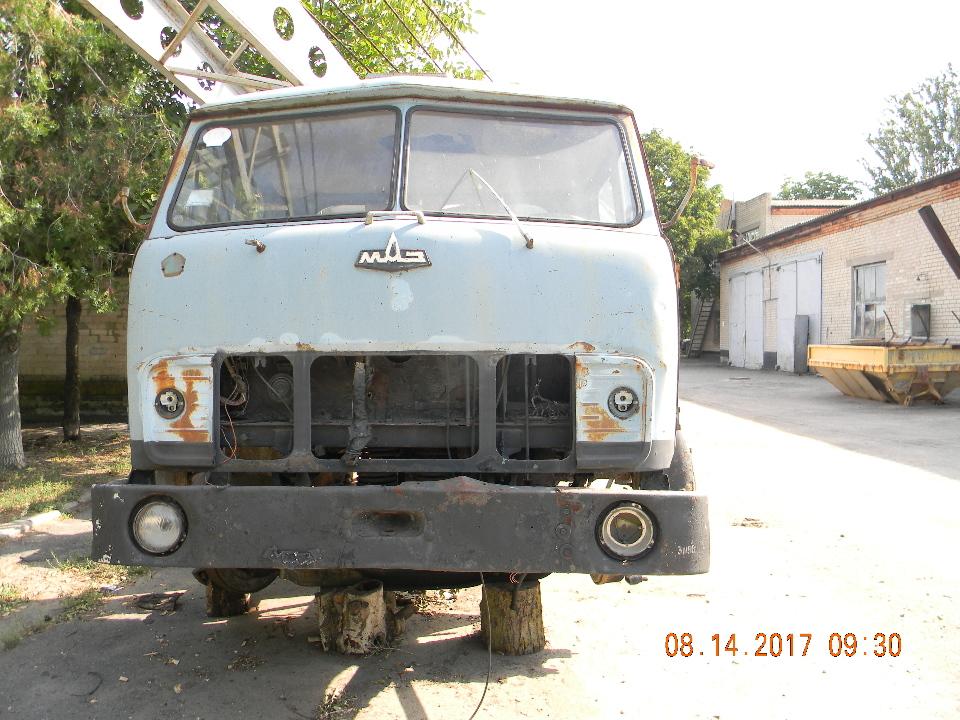 Вантажний автокран МАЗ 500 СМК 10, 1980 року випуску, синього кольору, державний номер АР3702АН, № шасі (кузов, рама) 18957