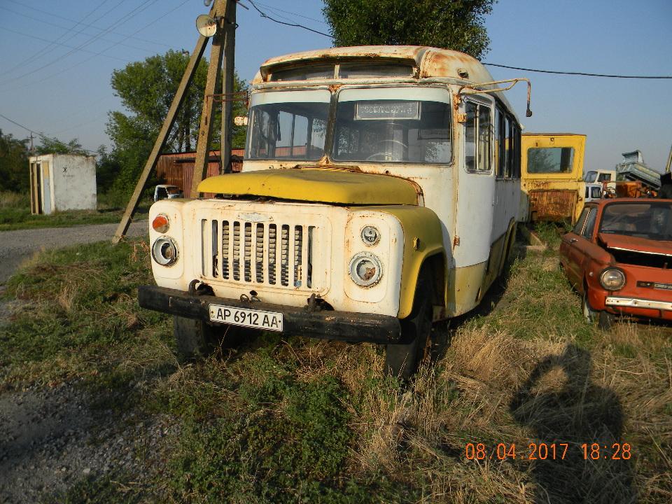 Автобус пасажирський КАВЗ 685М, 1986 року випуску, помаранчевого кольору, державний номер АР6912АА, № шасі (кузов, рама) 0926069